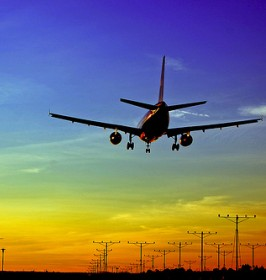 airplanesunset