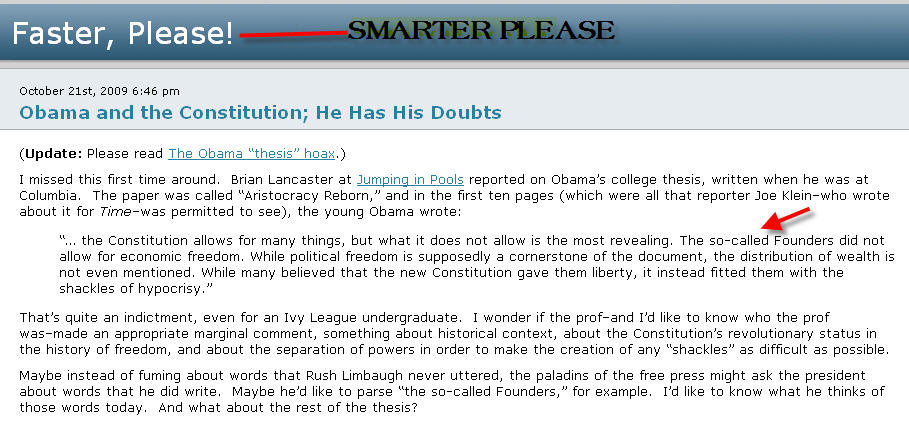 joe klien obama thesis It's a hoax, or a satire, depending on your point of view joe klein has said that he never read any part of an obama thesis from his columbia days, and that's conclusive, as far as i'm.